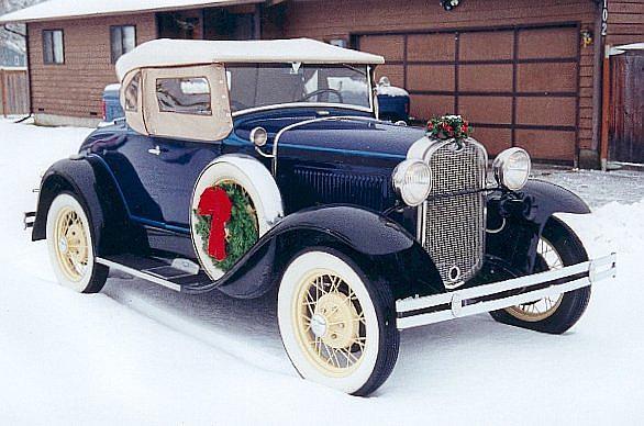 1930 Ford Model 68b Cabriolet